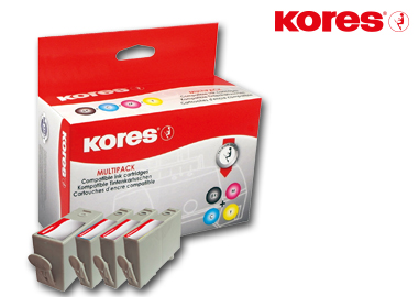 Kores Tintenpatrone G1717KIT kompatibel mit HP 920XL Sparpack