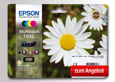 Epson Tintenpatrone 18XL
