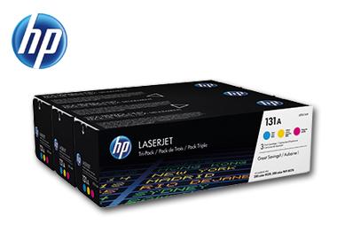 HP Toner 131A 3er-Sparpack