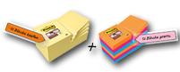Post-it® Haftnotizen Super Sticky Notes Promotion 12 + 12 GRATIS
