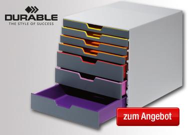 DURABLE Schubladenbox VARICOLOR® 7