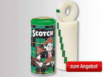 Scotch® Klebefilm MagicT in Metallbox