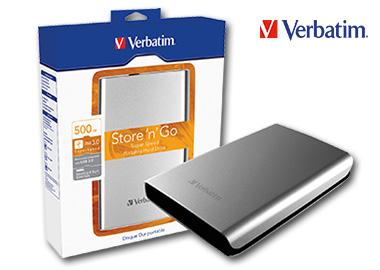 Verbatim Festplatte extern Store 'n' Go USB 3.0 500 Gbyte