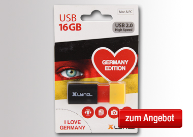 Xlyne USB Stick Wave Germany 16GB