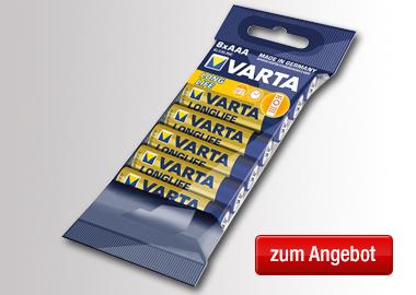 Varta Batterie Longlife LR03