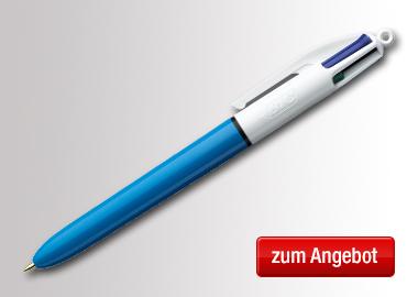 BIC® Mehrfarbkugelschreiber 4 Colours