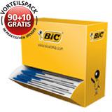BIC® Einwegkugelschreiber Cristal dokumentenecht 100 St./Pack.