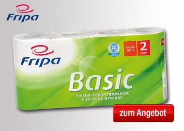 fripa Toilettenpapier Basic