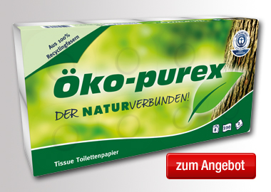 ÖKO-PUREX Toilettenpapier