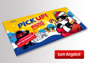 Leibniz Adventskalender PICK UP! minis