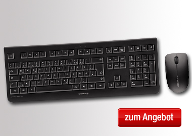 Cherry Tastatur-Maus-Set DW 3000