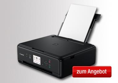 Canon Multifunktionsgerät PIXMA TS5050 3:1 mit Farbdruck
