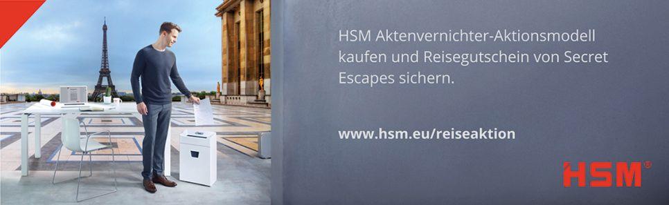 HSM Reisegutschein gewinnen