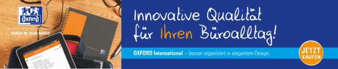 Oxford - Innovative Qualität für Ihren Büroalltag!