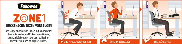 Zone 1 Rückenschmerzen vorbeugen