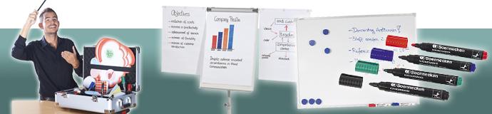 Warengruppenbanner Präsentation & Planung