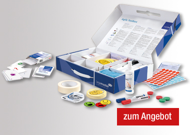 Legamaster Moderationsbox Agile Toolbox