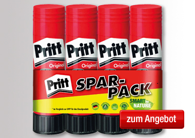 Pritt Klebestift Original Multipack 4 x 22 g