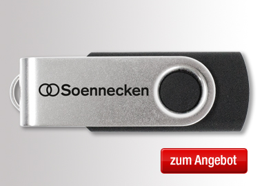 Soennecken USB Stick USB 3.0 64 GB