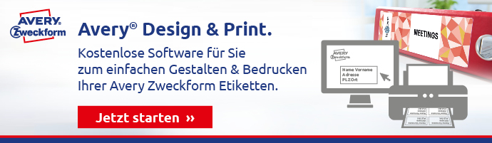 Avery Zweckform Etikettensoftware