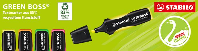 STABILO® Textmarker GREEN BOSS®