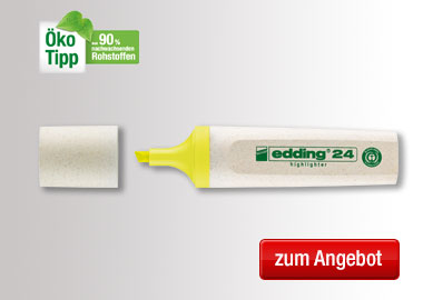 edding Textmarker Highlighter 24 EcoLine
