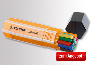 STABILO® Fineliner Big Box point 88®