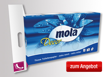 Mola Toilettenpapier Decor
