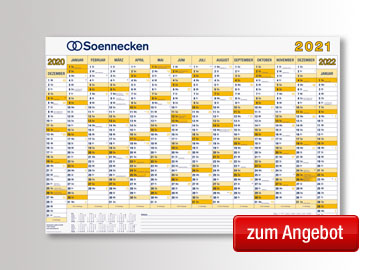 Soennecken Plakatkalender 2021