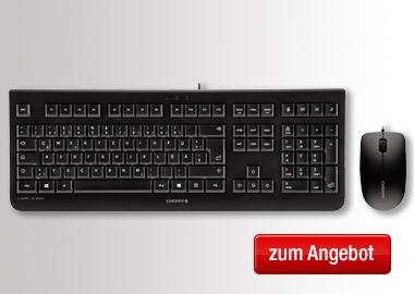 CHERRY Tastatur-Maus-Set DC 2000