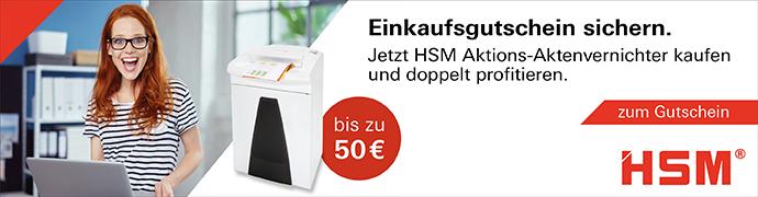 HSM Einkaufsgutschein