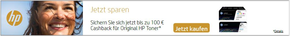 HP Cashbackaktion