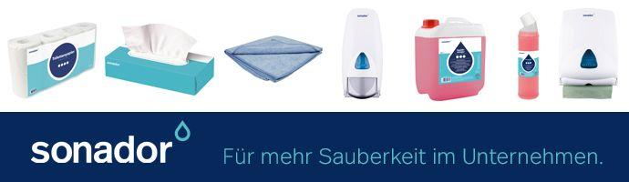 sonador - Für mehr Sauberkeit im Unternehmen