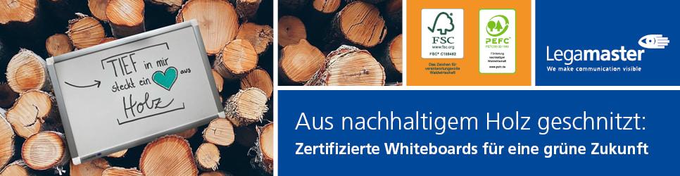 Zertifizierte Whiteboards für eine grüne Zukunft