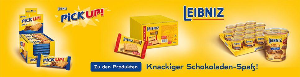 Leibniz - Knackiger Schokoladen-Spaß
