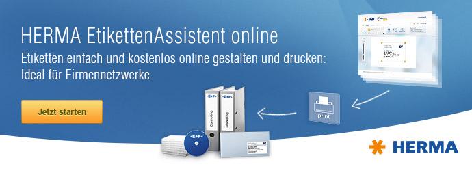 HERMA EtikettenAssistent online